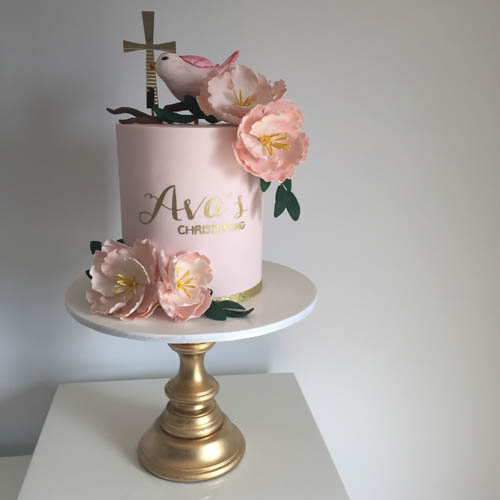 Splendid Servings Christening Cakes Melbourne